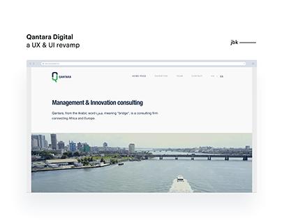 Qantara Digital - a UX & UI revamp