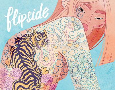 FLIPSIDE COVER X SOCIETY 6 / TATTLY