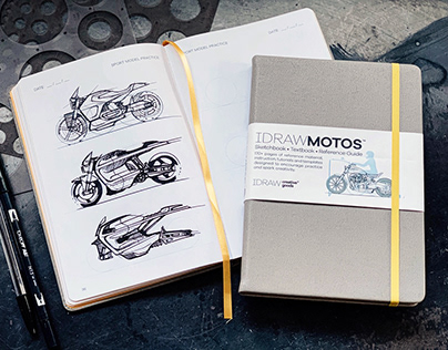 I DRAW MOTOS - Tutorial Sketchbook & Reference Guide