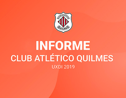 Proyecto UXDI 2019 - Intranet Club Atlético Quilmes MDP