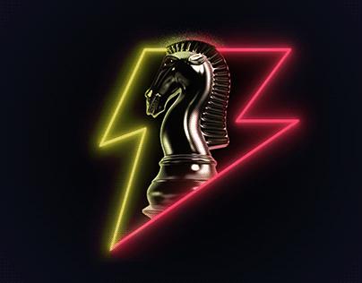 Lightning Chess (Photoshop Creative Challenge)