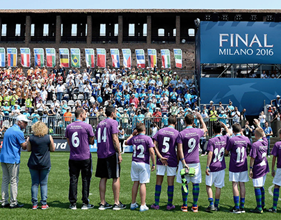 GAZPROM Football for Friendship | BRAND ACTIVATION
