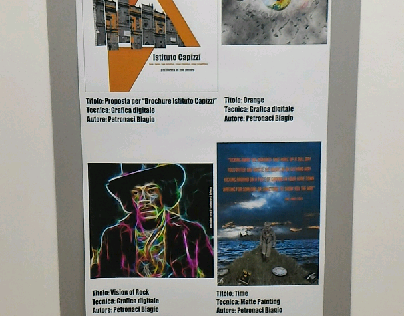 Artistic exhibition at a pinacoteca