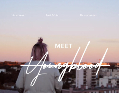 YOUNGBLOOD | Webdesign & développement