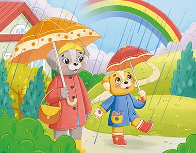 Tavir. Children book