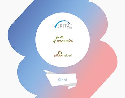 Klient: Veritas, MyCare, Pflegehelden