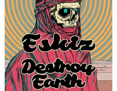 Concert Art For Eskiz and Destroy Earth