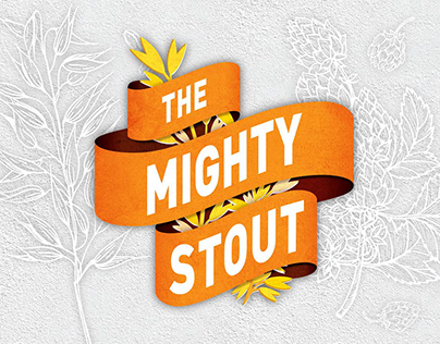 MORNFLAKE - THE MIGHTY STOUT - Branding and Packaging