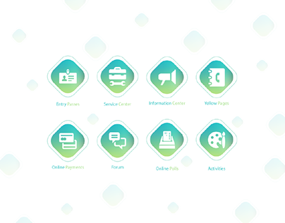 Servizing - Icons Design