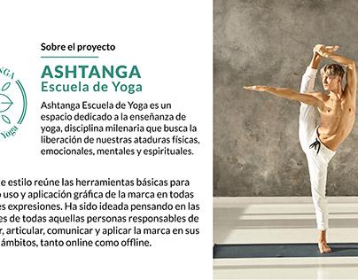 Ashtanga Escuela de Yoga | Branding