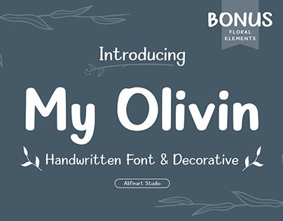 My Olivin Decorative Font