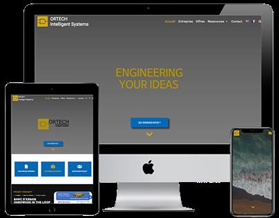 Refonte du site Ortech Intelligent systems