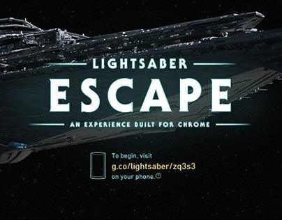 Starwars Lightsaber Escape