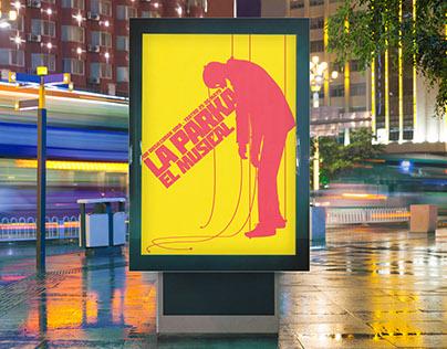 """Afiche / Poster """"La Parka"""""""