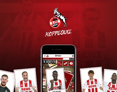 1. FC Köln | Köppequiz Mobile-Game
