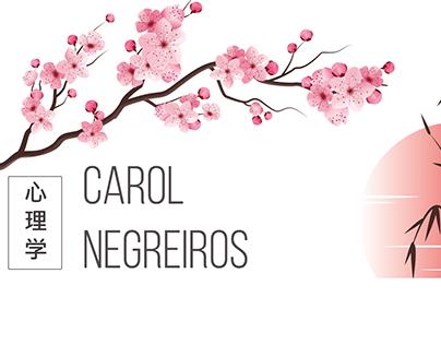 Cartão comercial - Carol Negreiros