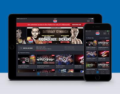 BoxNation iPad & iPhone app