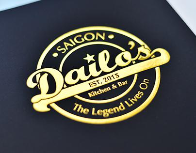 Dailo's Bar - Brand Identity