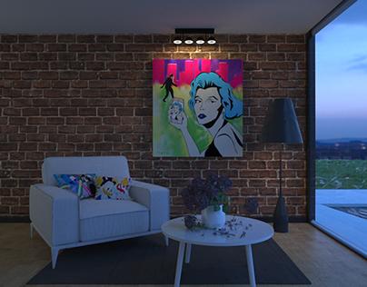 Painting Room 1 (Series)