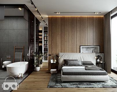 Master Bedroom .Dubai, UAE.