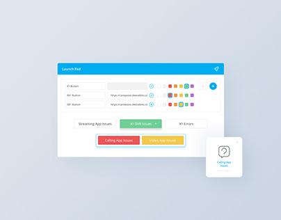 Web UX/ UI Design Software: Short Link Launcher