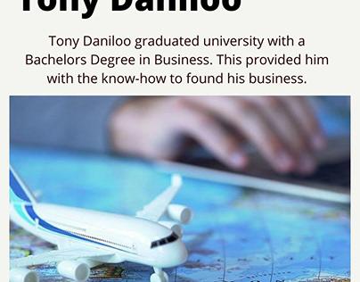 Tony Daniloo - Business Degree Holder
