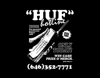 HUF GRAPHIC TEE —CONTEST