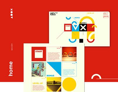 Diseño Web - Museo de los Videojuegos