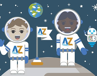 AstroZone interactive Learning resource for kids