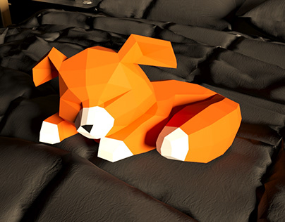 "Low Poly ""Fox"""