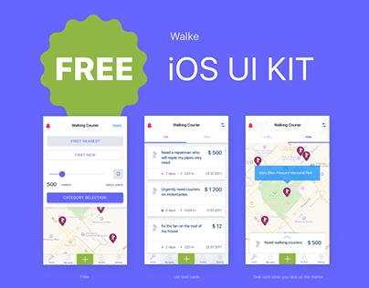 Walke. FREE iOS kit