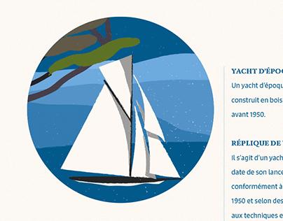 Carnet de bord des Voiles de Saint-Tropez