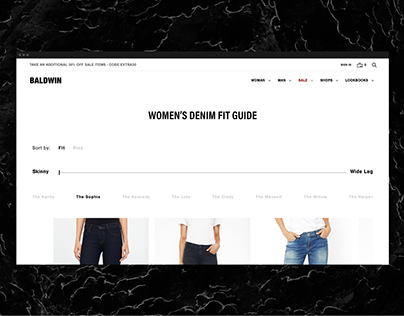 BLDWN Fit Guide