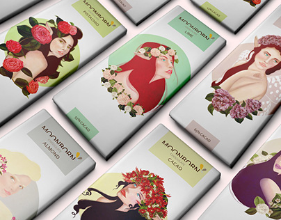 Moonborn Chocolate | Packaging