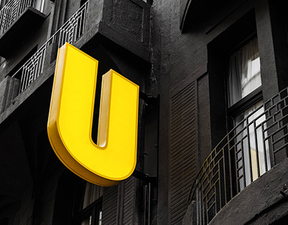 Upstairs Hotel - branding