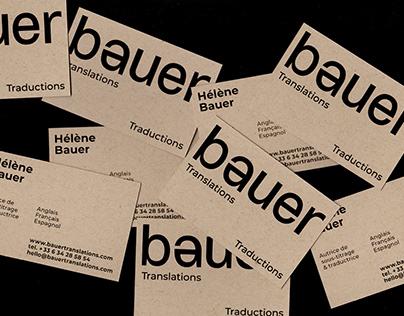 BAUER TRANSLATIONS