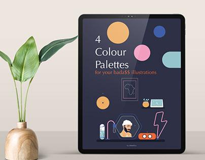 Colour palettes Ebook