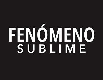 Fenómeno sublime