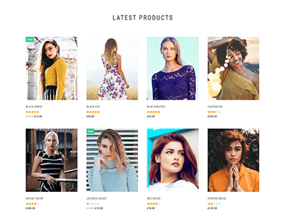 Woocommerce website, WordPress website, Ecommerce