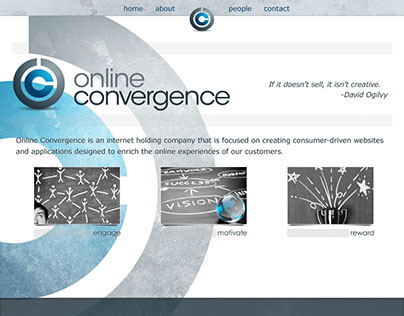Online Convergence Corporate Website