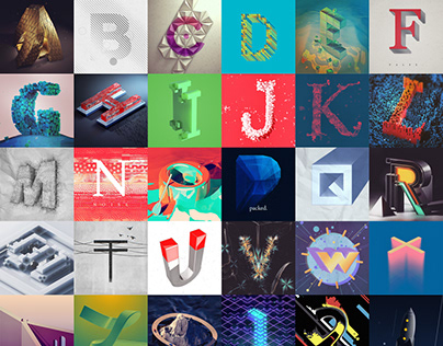 36 DAYS OF TYPE 2017 - 26 LETTERS A-Z