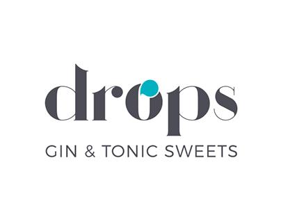 Drops Gin & Tonic Sweets | Branding, packaging & web