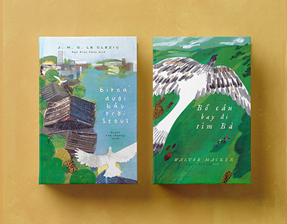 Book covers for Nha Nam Publishing house