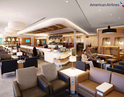 American Airlines Flagship Lounge - Stylist