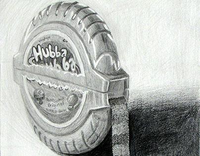 Bubble Tape Scarf
