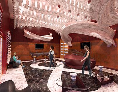 Advanced Vis. - Spring 2018: Mobius Hotel Lobby