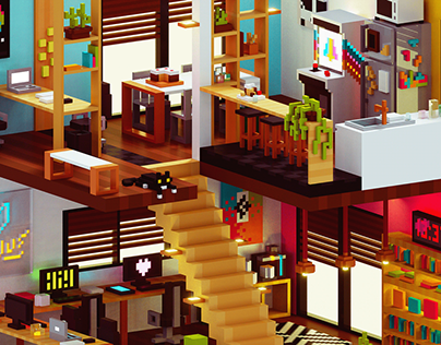 Voxel Workplace