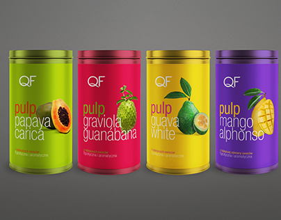 QF- Canned fruit pulp.