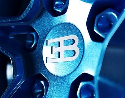 Bugatti Chiron Wheel Visualization