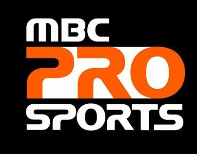 MBC Pro Sport logo animation